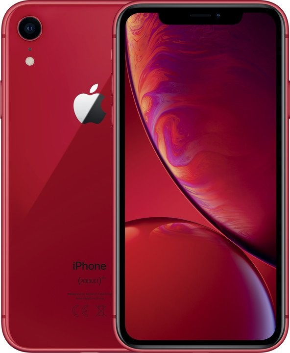 iPhone XR Mobilní telefon Apple iPhone XR 128GB, červená