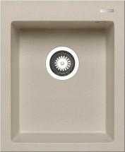Istros - Granitový dřez 41x50, 1B, béžová