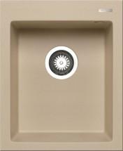 Istros - Granitový dřez 41x50, 1B, moka