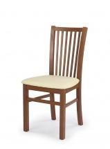 Jacek - Jídelní židle (krémová, třešeň)