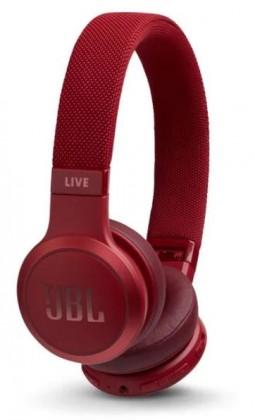 JBL LIVE 400BT, červená