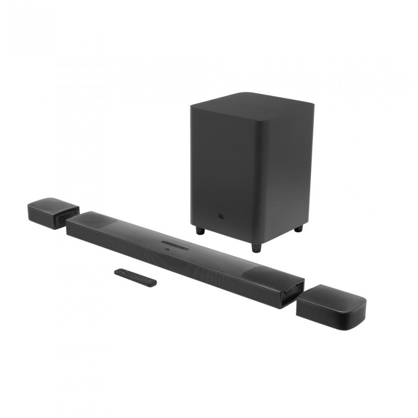 JBL reproduktory JBL BAR 9.1 True Wireless Surround černý