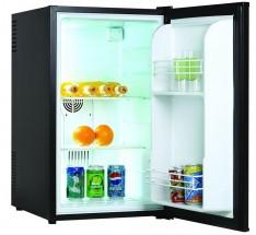 Jednodveřová lednice Guzzanti GZ 70B VADA VZHLEDU, ODĚRKY