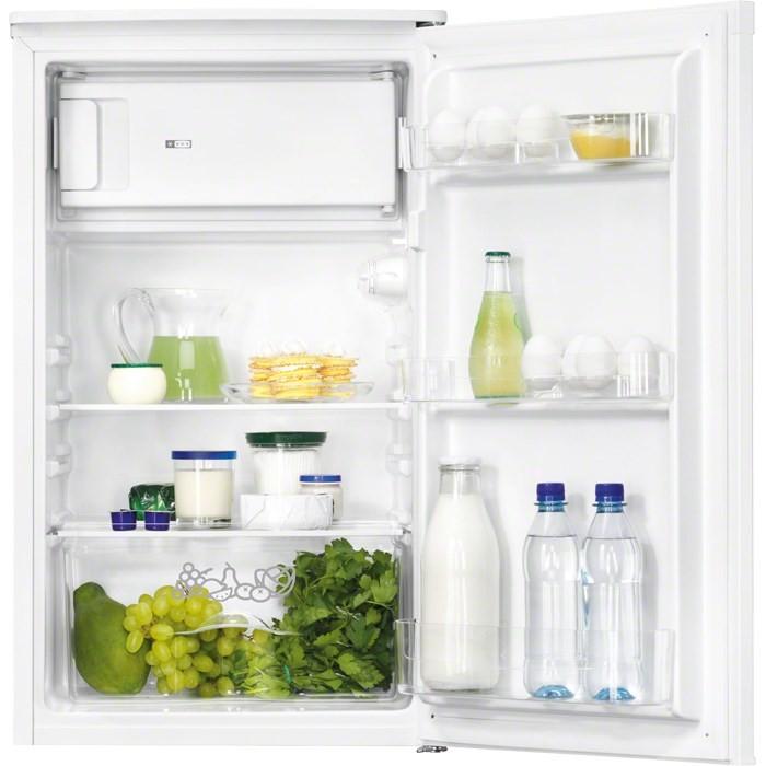 Jednodveřové s mrazákem Jednodveřová lednice Zanussi ZRG10800WA