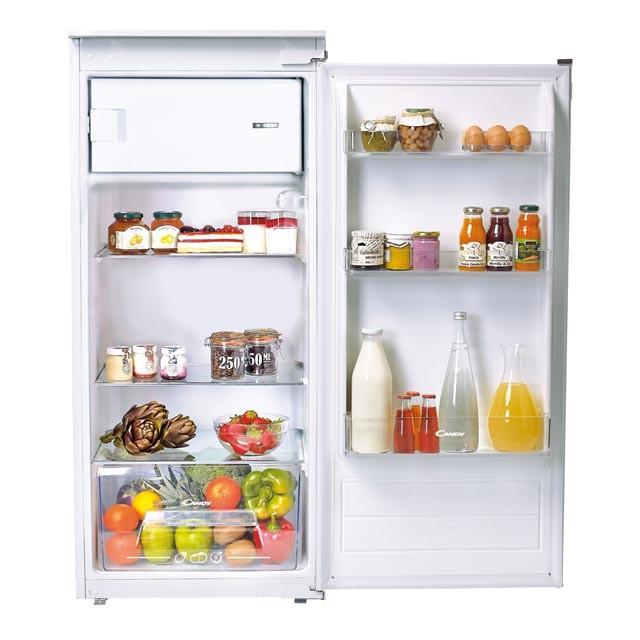 Jednodveřové s mrazákem Vestavná lednice Candy CIO 225EE