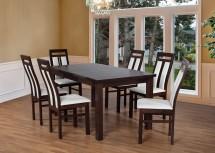 Jídelní set 7 - 6x židle,1x stůl - PŘEBALENO
