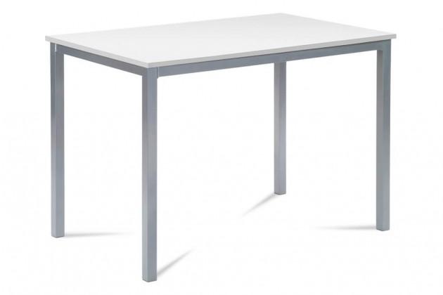 Jídelní stoly Jídelní stůl Ciblo (bílá, šedá)
