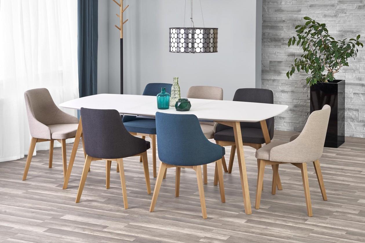 Jídelní stoly Jídelní stůl Kajetan - rozkládací (150/200x76x85)