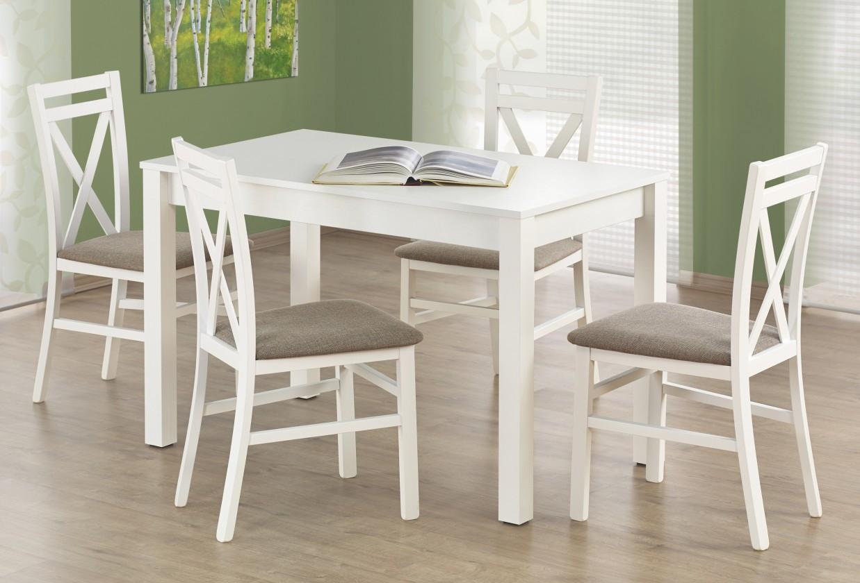 Jídelní stoly Jídelní stůl Ksawery (bílá)