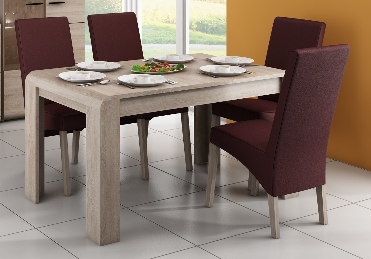 Jídelní stoly Jídelní stůl Link rozkládací (dub sonoma)