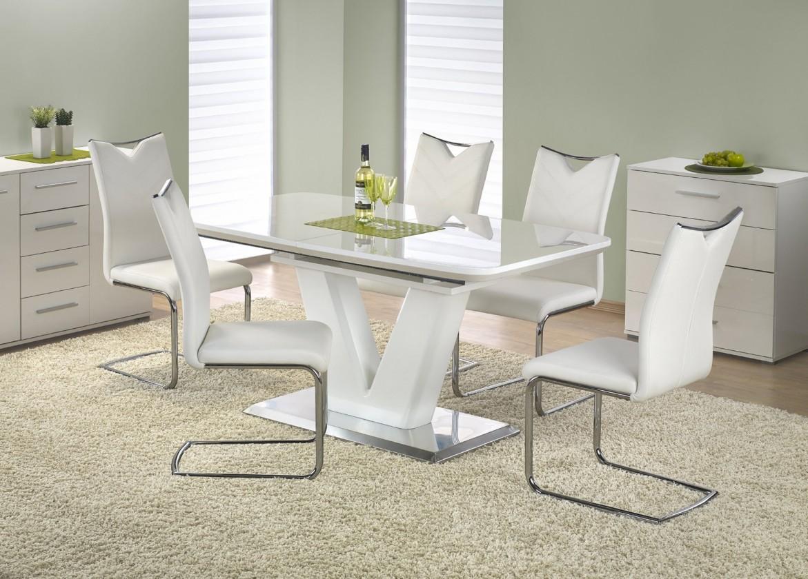 Jídelní stoly Jídelní stůl Mistral - 160 - 220x90 cm (bílý lak)
