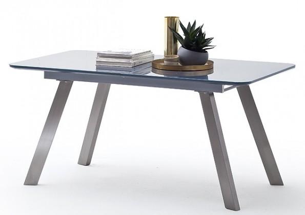 Jídelní stoly Jídelní stůl Omero rozkládací (šedá, stříbrná)