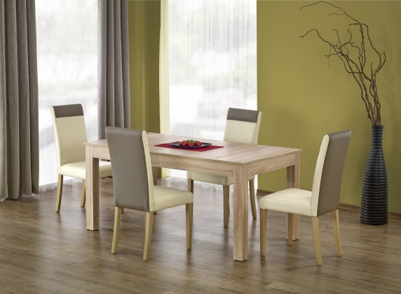 Jídelní stoly Jídelní stůl Seweryn -160-300x90 (dub sonoma)