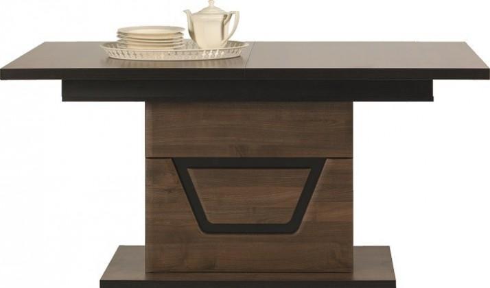 Jídelní stoly Jídelní stůl Tes (ořech, korpus a fronty)