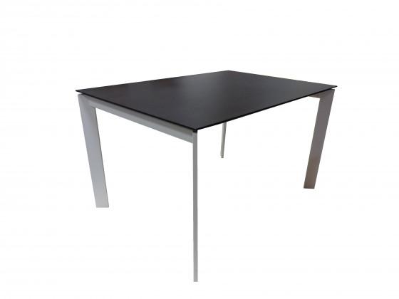 Jídelní stoly Jídelní stůl Universe 130 (bílá, wenge)