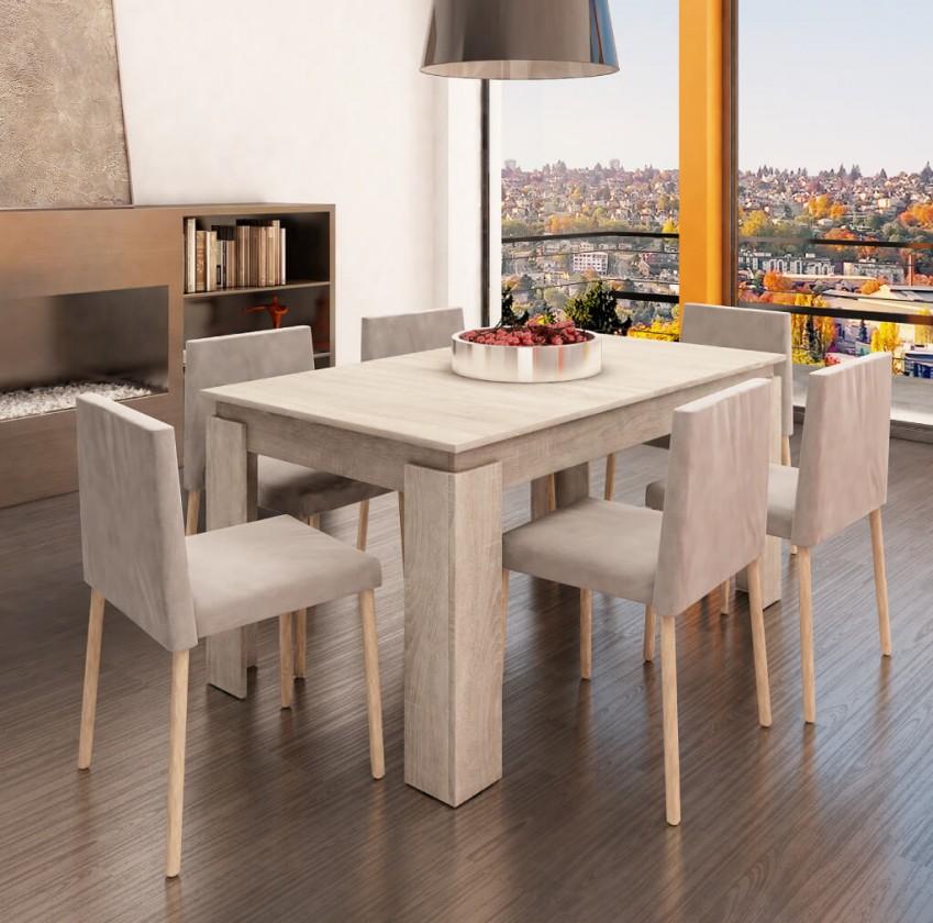 Jídelní stoly Jídelní stůl Vasco (dub sonoma)