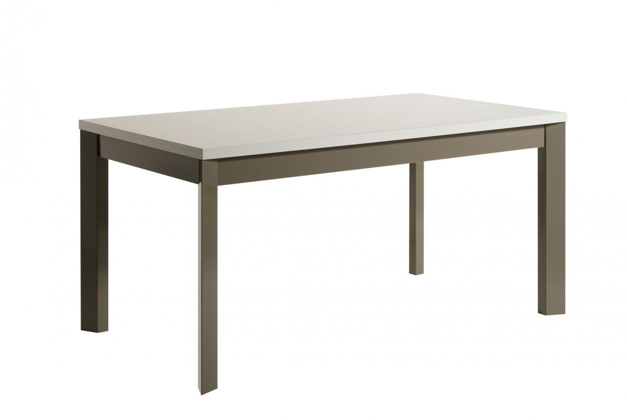 Jídelní stůl Almera - Jídelní stůl 160 cm (bílá/šedá)