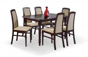 Jídelní stůl Arnold (ořech tmavý)