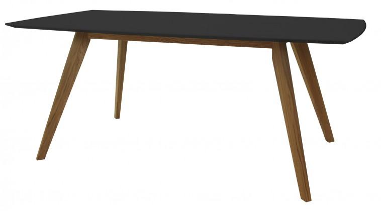 Jídelní stůl BESS 2180-024(černá/dub)