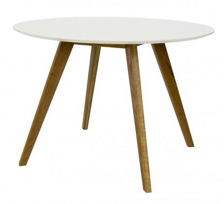 Jídelní stůl BESS 2181-001(bílá/dub)