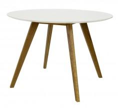 Jídelní stůl BESS 2181-001 (bílá/dub)