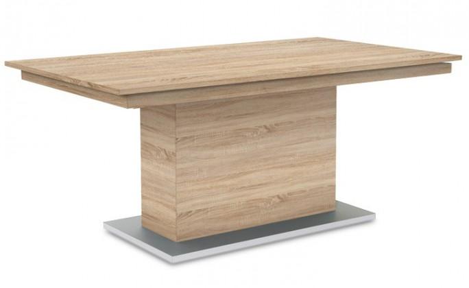 Jídelní stůl Deck 190 cm (deska dub/kostra postavec dub)