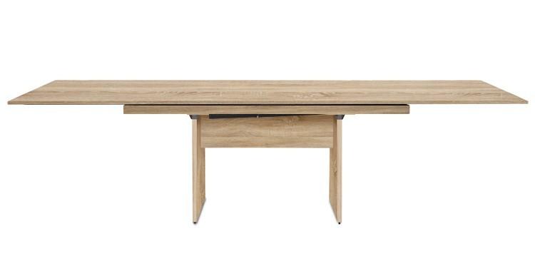 Jídelní stůl Deck 220 cm, rozkládací  (deska dub/kostra panely dub)