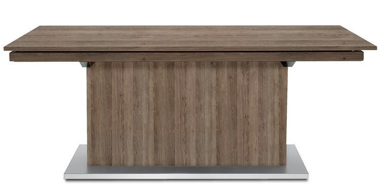 Jídelní stůl Deck 220 cm, rozkládací  (tmavý dub/tmavý dub)