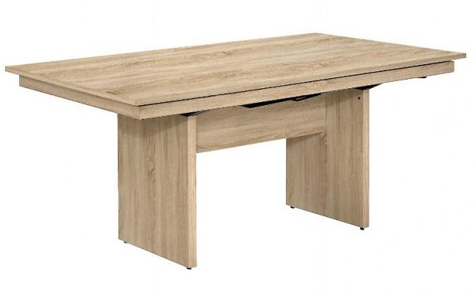 Jídelní stůl Deck (dub,deska)