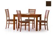 Jídelní stůl Ernest  120/160 (tmavý ořech)