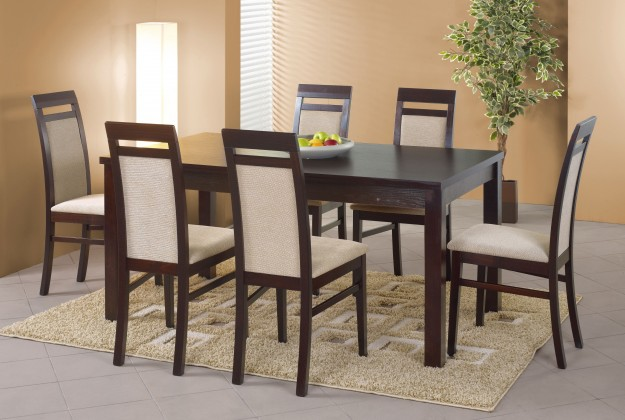 Jídelní stůl Ernest 2 (tmavý ořech)