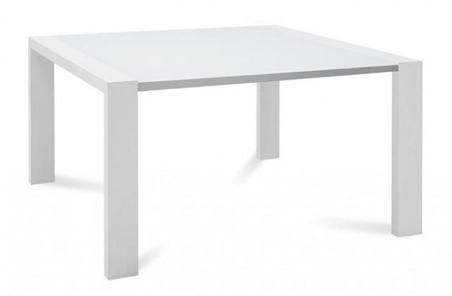 Jídelní stůl Fashion - Jídelní stůl, rozkládací (bílá)