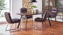 Jídelní stůl Finn (ořech, šedá)