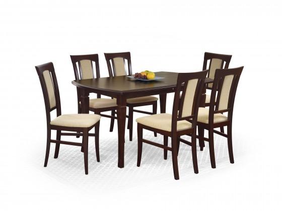 Jídelní stůl Fryderyk - Jídelní stůl 160/200 (ořech temný)