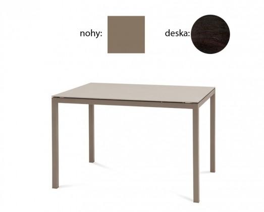 Jídelní stůl Full - Jídelní stůl (lak taupe matný, wenge)