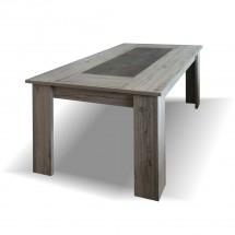 Jídelní stůl Glen - 160x76x90 cm (figaro, beton)
