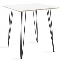 Jídelní stůl Jans (bílá, černá)