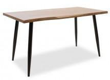 Jídelní stůl Jans (ořech, černá)