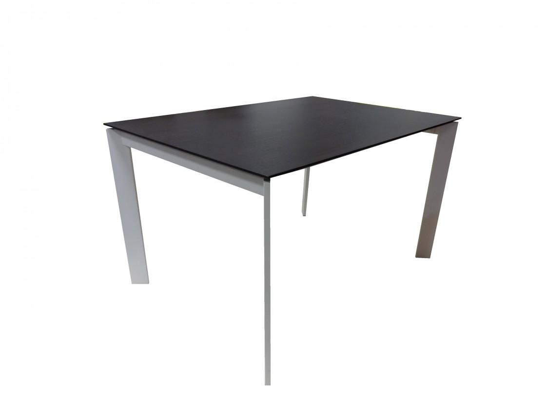 Jídelní stůl Jídelní stůl Universe 130 (bílá, wenge)