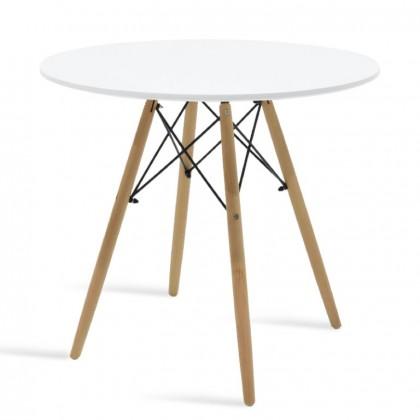 Jídelní stůl Justy (bílá)