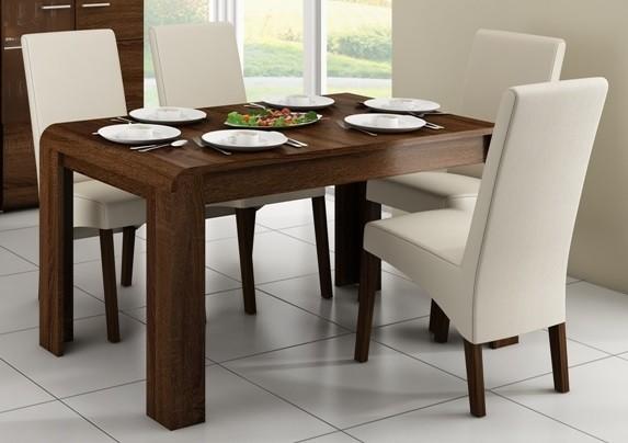 Jídelní stůl Link - Jídelní stůl (dub chocolate)