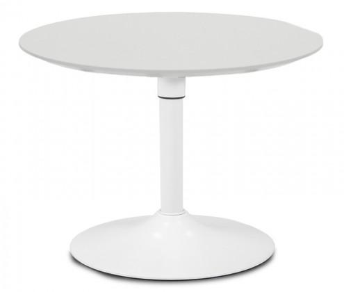 Jídelní stůl LOLA 9306-001+TRUMPET 9341-801 (bílá)