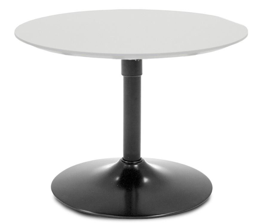 Jídelní stůl LOLA 9306-001+TRUMPET 9341-824 (bílá,černá)