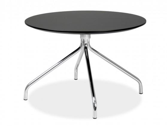 Jídelní stůl LOLA 9306-024+EGO 9319-091 (černá,chrom)