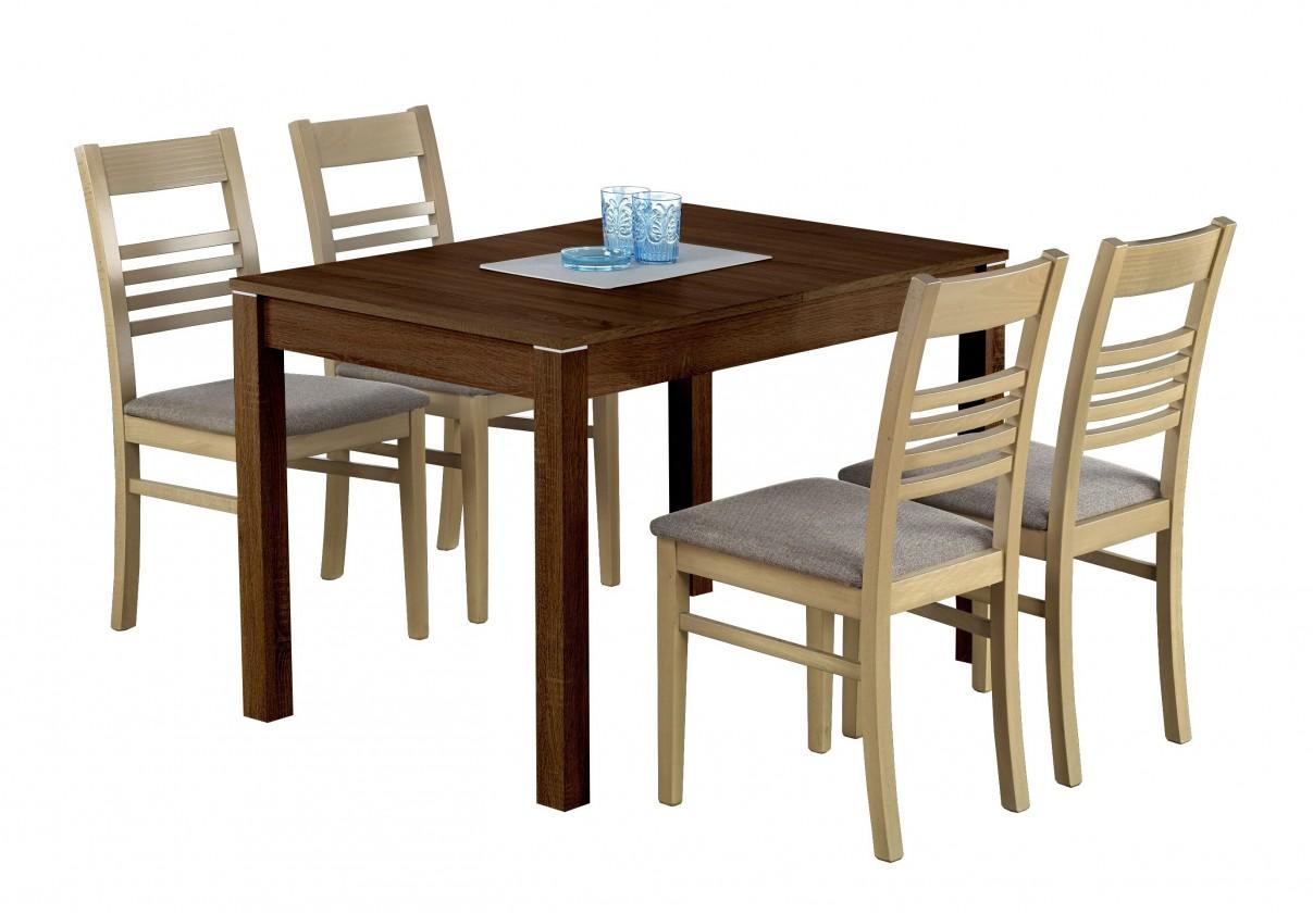 Jídelní stůl Maurycy (tmavý ořech)