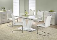 Jídelní stůl Mistral - 160 - 220x90 cm (bílý lak)