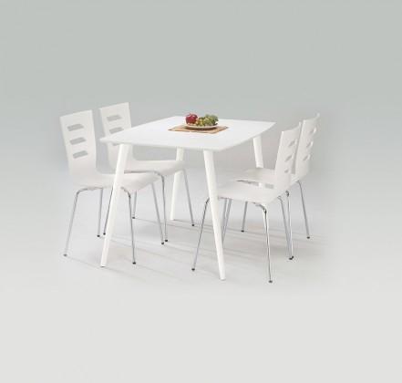 Jídelní stůl Omega  (bílá)