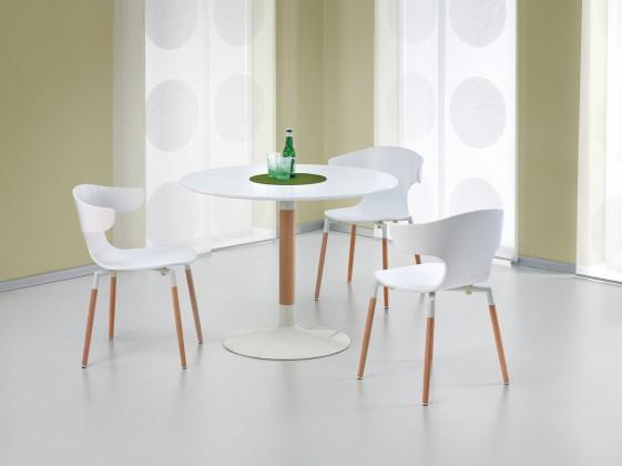 Jídelní stůl Osvaldo  - jídelní stůl (bílá/masiv)