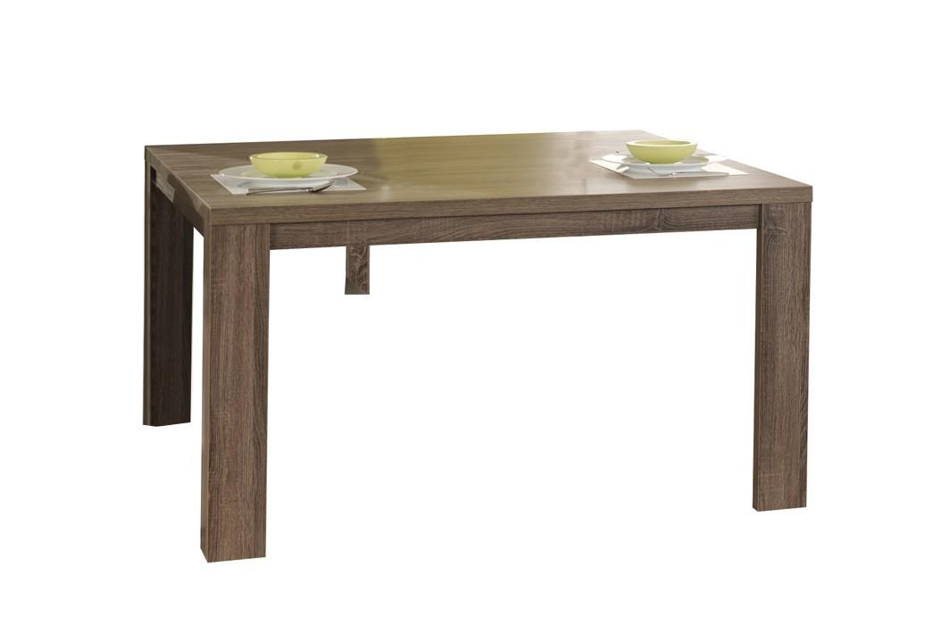 Jídelní stůl Raffia - Jídelní stůl 140 C070 (dub černý)