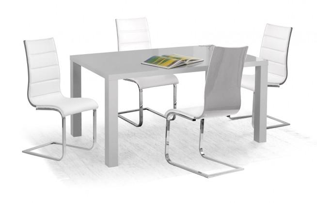 Jídelní stůl Ronald - Jídelní stůl 160x90 cm (šedý lak)